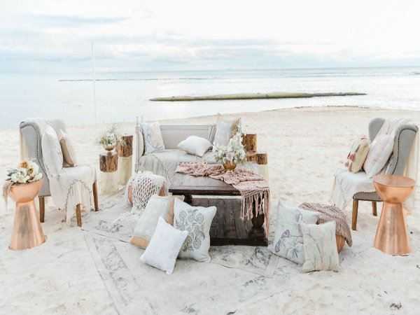 Boho Chic Wedding in Riviera Maya