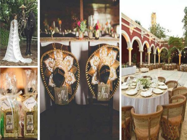 Mexican-themed weddings