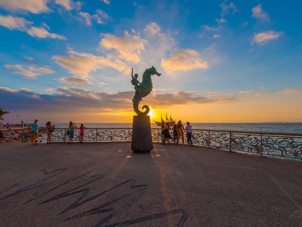 The Sunset in Puerto Vallarta, an impressive natural spectacle