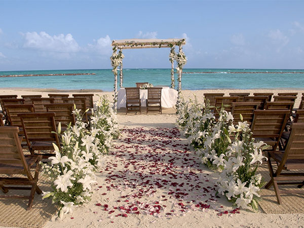 Wedding venue at Velas Resorts