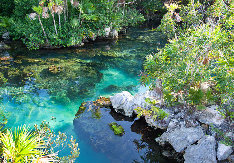 Xcaret Eco Theme Park at Mexico