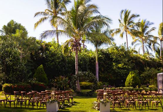 Tropical Botanic Garden at Casa Velas, Mexico