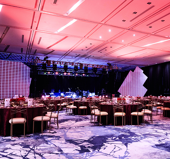 Elegant Grand Ballroom at Grand Velas Los Cabos, Mexico